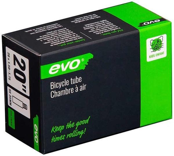 Evo Schrader Tube Color | Size: Black | 20 x 1.50 – 1.75