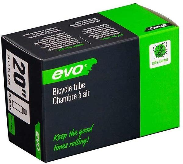 Evo Schrader Tube Color | Size: Black | 20 x 1.75 – 2.125