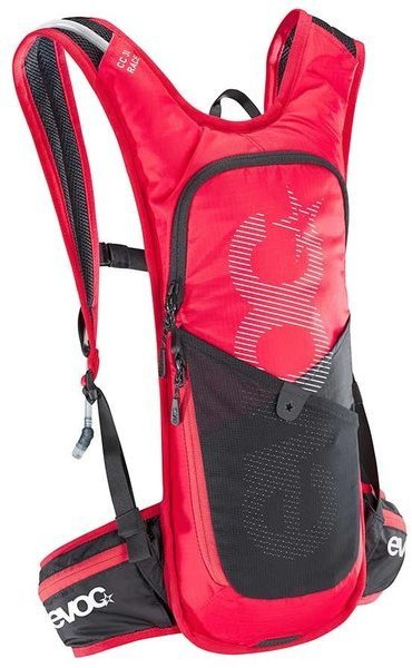 evoc CC 3L RACE Color: Red/Black