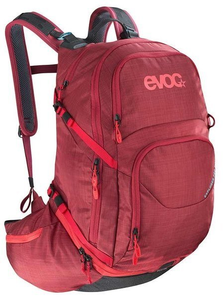 evoc EXPLORER PRO 26L Color: Heather Ruby
