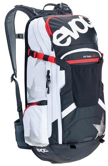 evoc FR TRAIL UNLIMITED 20L Color: Black/White