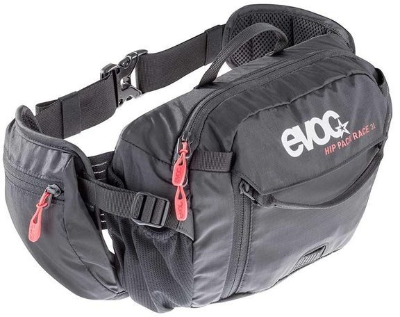 evoc HIP PACK RACE 3L + 1.5L BLADDER Color: Black