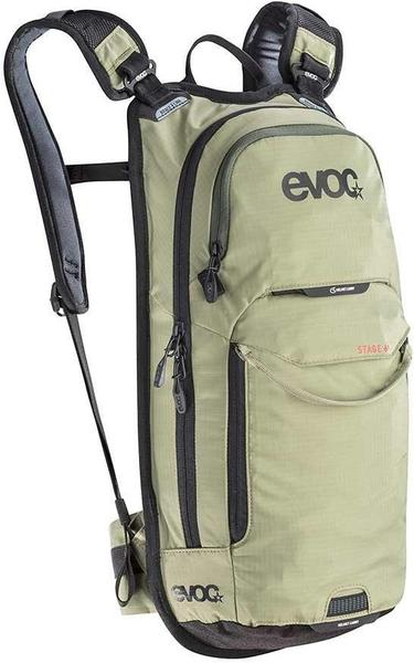 evoc Stage 6 + 2L Bladder Color | Fluid Capacity | Gear Capacity: Light Olive | 2L | 6L