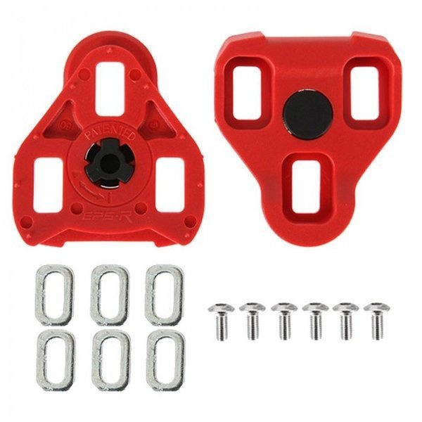 Exustar E-ARC10 Cleat Set Color: Red
