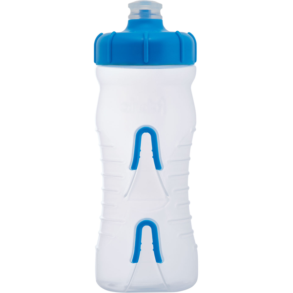 Fabric Cageless Bottle Color: Clear/Blue