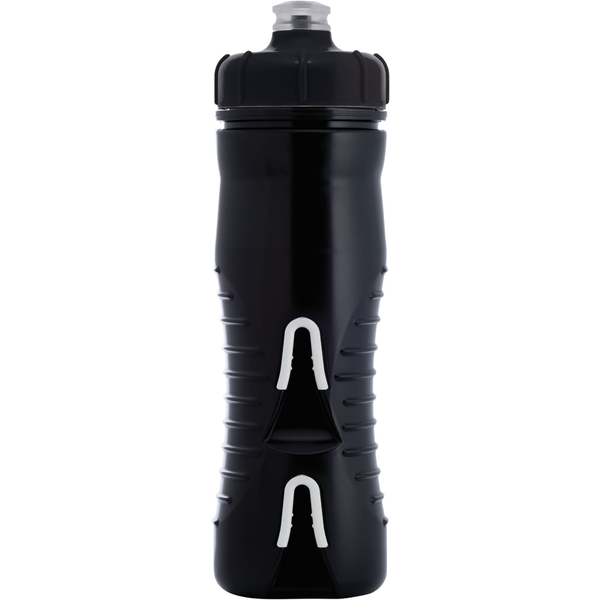 Fabric Cageless Insulated Bottle Color: Black/Black