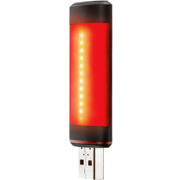 Fabric Lumacell Rear Light Color: Black
