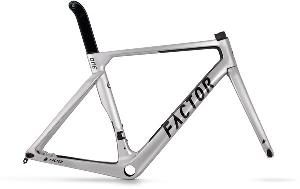 Factor Bikes ONE-S Disc Chassis Color: Sterling Silver