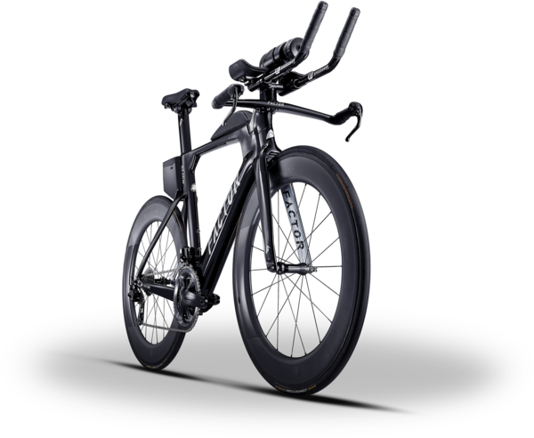Factor Bikes SLiCK Rolling Chassis Image differs from actual product (complete bike shown)