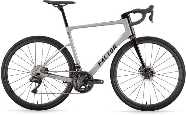 Factor Bikes ViSTA Rolling Chassis Image differs from actual product (complete bike shown)