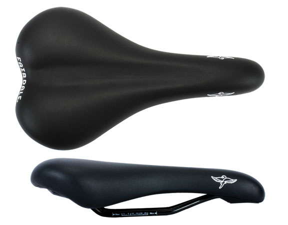 Fairdale Fairdale Logo Saddle Color: Black