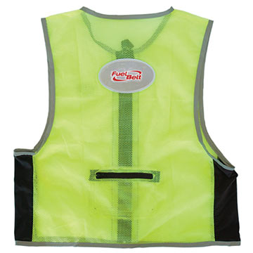 FuelBelt High Visibility Vest Color: Neon Green