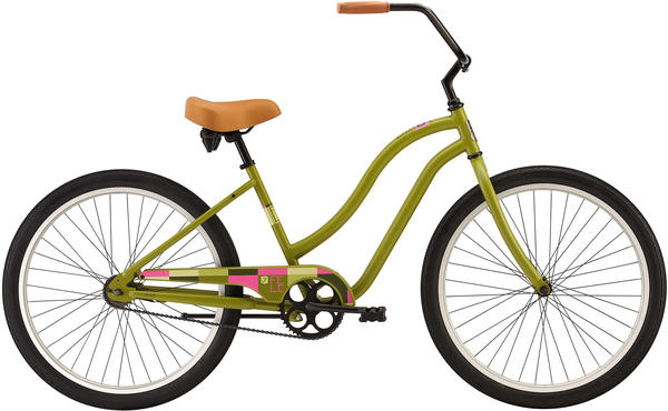 Felt Bicycles Bixby 1-Speed - Women's Color: Dark Khaki