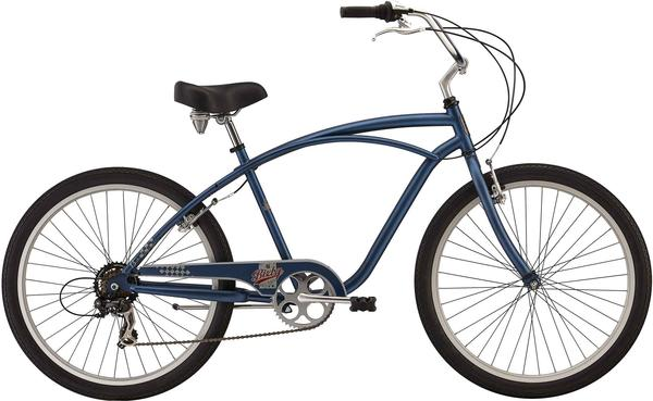 Felt Bicycles Bixby Mens 7-SP Color: Slater Blue