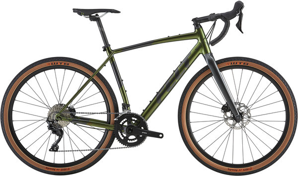 Felt Bicycles Breed 30 Color: Sage Green Metallic (Obsidian Grey)