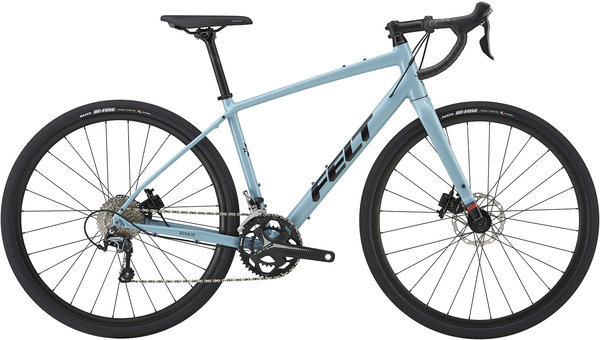 Felt Bicycles Broam 40 Color: Mist Blue (Black)