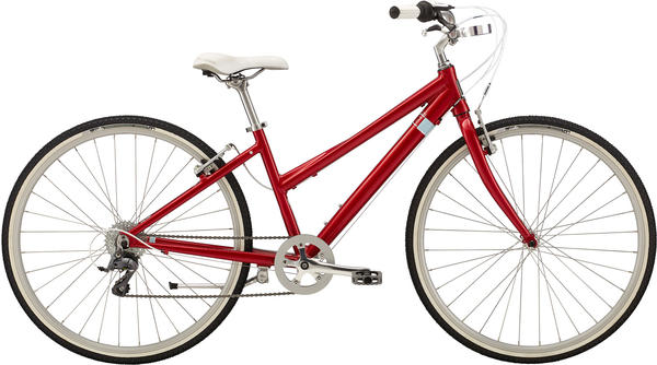 Felt Bicycles Verza Café 7 - Women's Color: Candy Apple Red