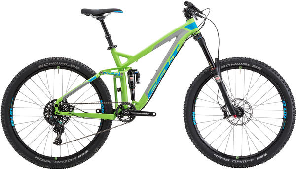 Felt Bicycles Compulsion 10 Color: Matte Lime Punch (Cyan/Grey)