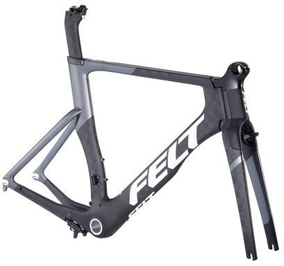 Felt Bicycles DA1 Frame Kit Color: Matte TeXtreme/Charcoal/White