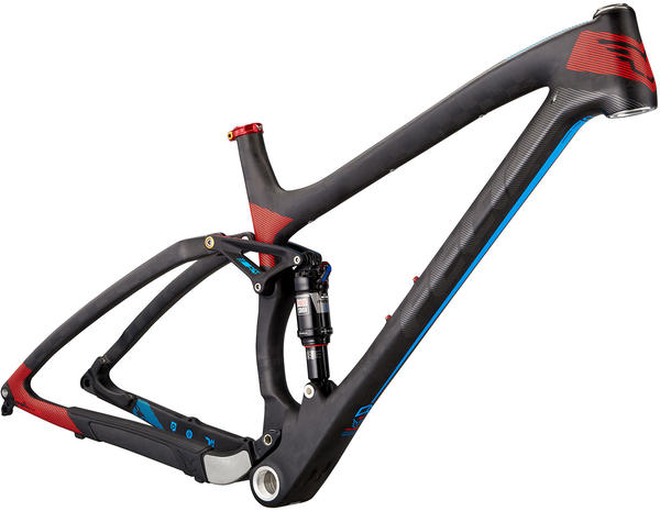 Felt Bicycles Edict FRD Frame Color: Matte Textreme (Blue/Cyan)