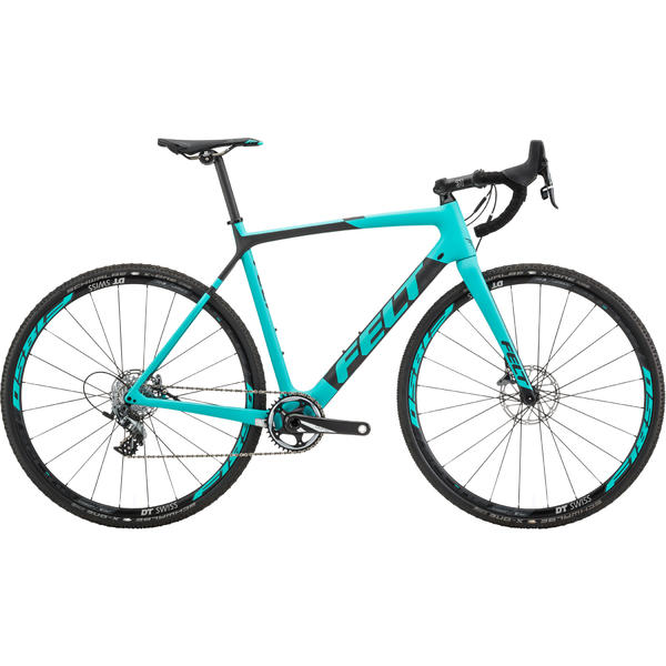Felt Bicycles F1x Color: Matte TeXtreme Aqua