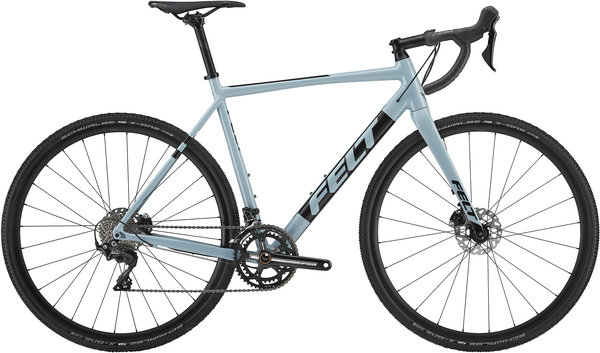 Felt Bicycles F30X Color: Mist Blue (Black)