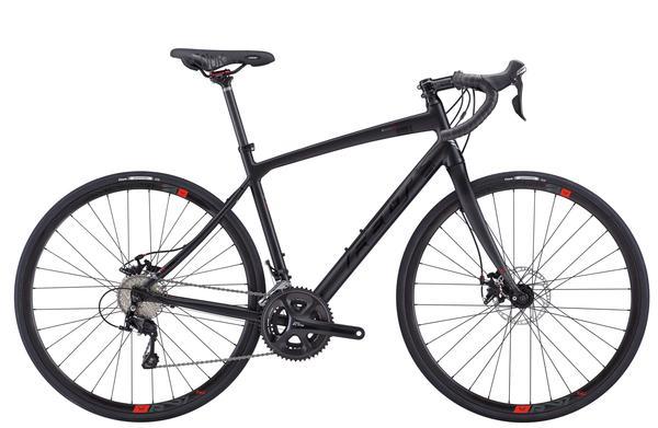 Felt Bicycles V85 Color: Satin Black/Gloss Black/Red