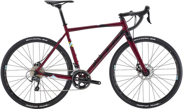 Felt Bicycles F85x Color: Gloss Snozberry (Black/Blue/Flouro Green)
