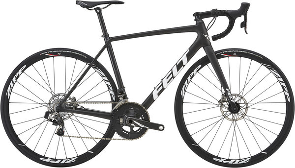 Felt Bicycles FR2 DISC eTAP Color: Matte Textreme/Glitter Black/White