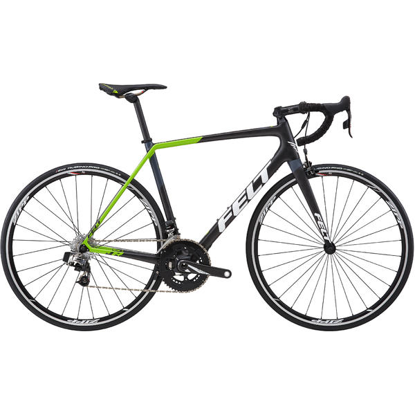 Felt Bicycles FR2 Disc (eTap HRD) Color: Black/Green