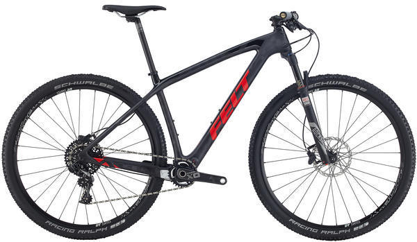 Felt Bicycles Nine 1 Color: Matte Textreme (Gloss Black/Red)