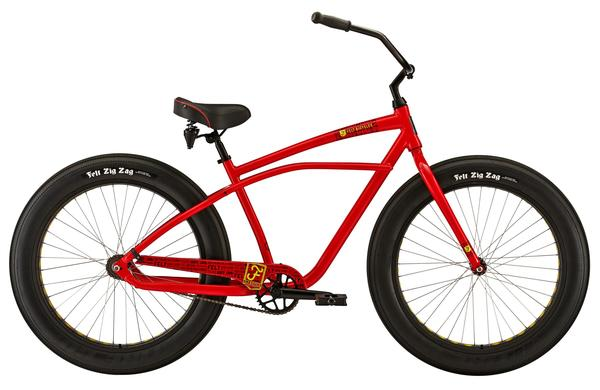 Felt Bicycles Float Color: Electric Red