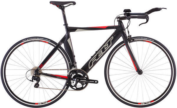 Felt Bicycles S32 Color: Matte Black (Silver/Red)