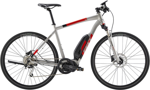 Felt Bicycles Sport-E 50 S Color: Matte Pewter/Red/Black