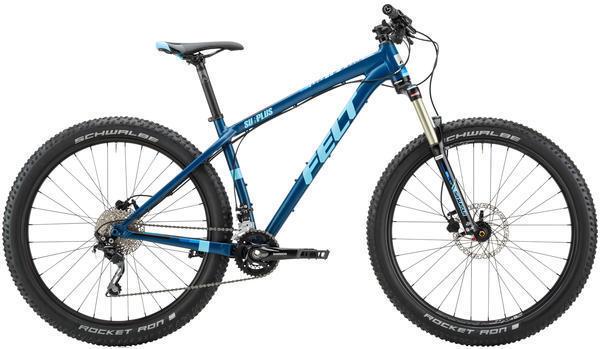 Felt Bicycles Surplus 70 Color: Matte Dark Blue (Light Blue, Black)