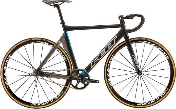 Felt Bicycles TK2 Color: Matte Black (Shadow/Silver/Blue)