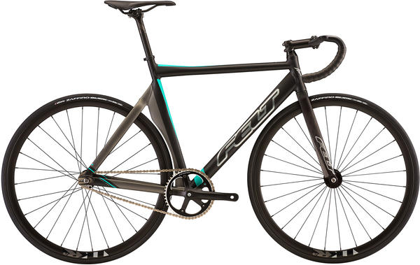 Felt Bicycles TK3 Color: Matte Black Shadow (Silver/Aqua)