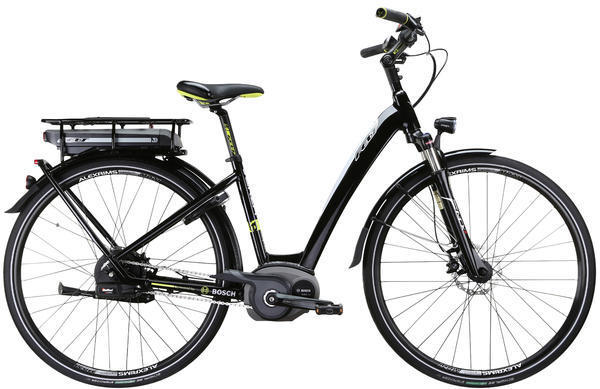 Felt Bicycles Verza-e 10 Color: Gloss Black (Silver, Lime)