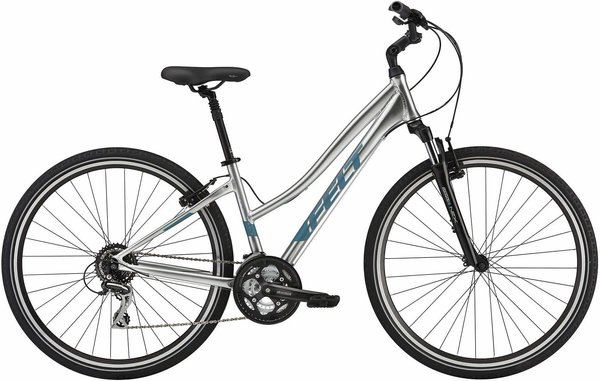 Felt Bicycles Verza Path 40W Color: Silver Pearl