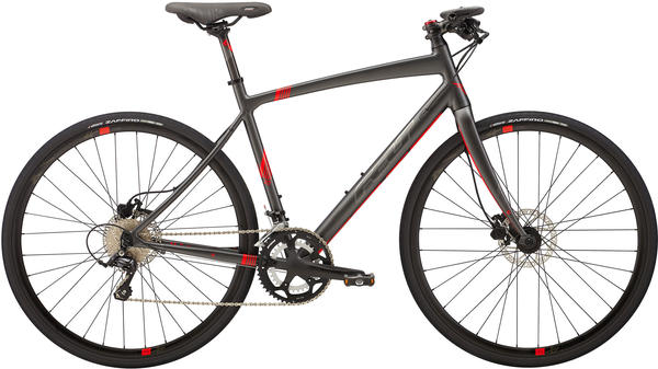 Felt Bicycles Verza Speed 20 Color: Matte Obsidian Grey (Silver/Red)