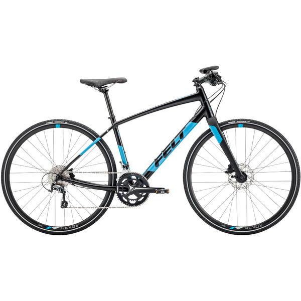 Felt Bicycles Verza Speed 20 Color: Matte Black/Reflective Blue