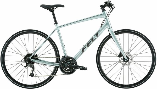 Felt Bicycles Verza Speed 40 Color: Aqua Mist/Reflective Pewter