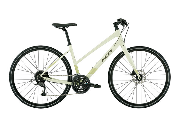 Felt Bicycles Verza Speed 40 Mid-Step Color: Glow Green Reflective