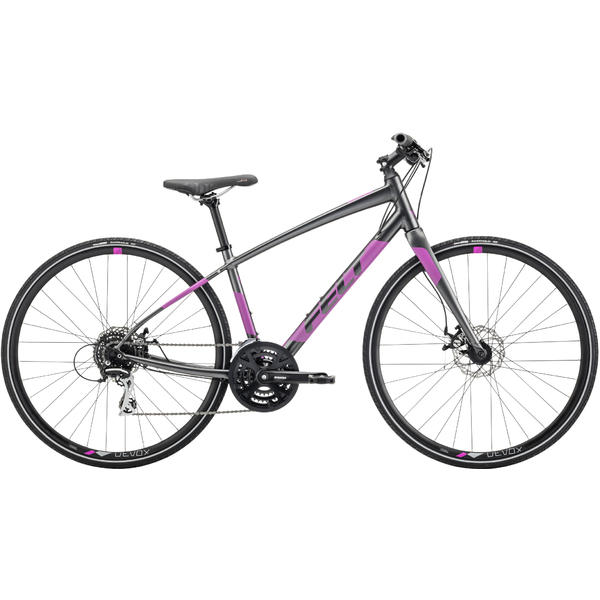Felt Bicycles Verza Speed 40 Women Color: Matte Obsidian/Reflective Lilac