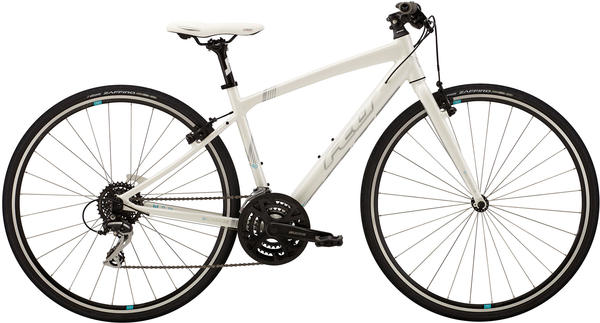 Felt Bicycles Verza Speed 40 Women Color: White Pearl (Silver/Aqua)