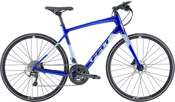 Felt Bicycles Verza Speed 6 Color: Electric Blue/Reflective Silver