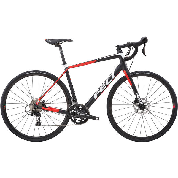 Felt Bicycles VR30 Color: Matte Black/Red/White