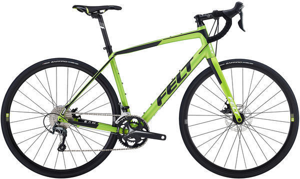 Felt Bicycles VR40 Color: Matte Acid Green (Black)