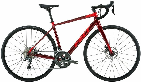 Felt Bicycles VR 40 Color: Crimson
