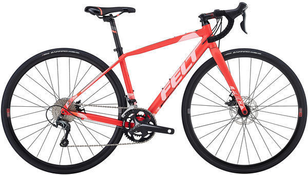 Felt Bicycles VR40W Color: Matte Fiesta Red (Peach)